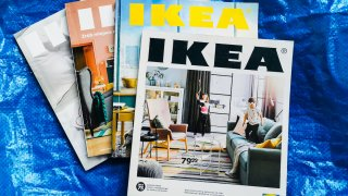 Ikea printed catalogues