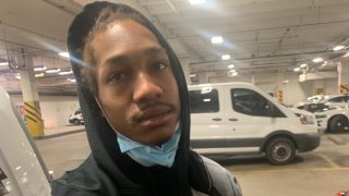 Leon Taylor, a murder suspect who escaped from custody in Gary, Indiana on Dec. 14. He is described as a Black male, standing 6-feet tall and weighing 162 pounds. He has brown hair and hazel eyes.
