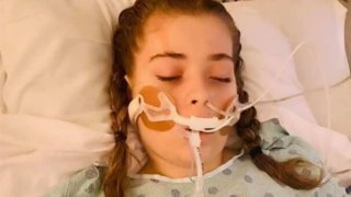 Ariel Griffith in the ICU.
