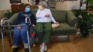 Virus Outbreak Nursing Homes
