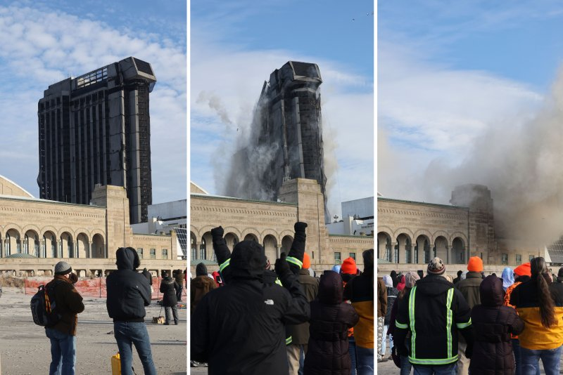 Photos: Former Trump Plaza Casino on Atlantic City Boardwalk Imploded