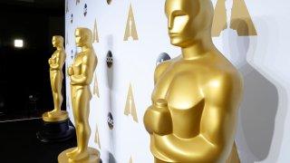 Oscar statues at the 88th Academy Awards