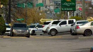The La Quinta in Nashville where Michael Tucker was found dead.