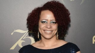 FILE - In this May 21, 2016, file photo, Nikole Hannah-Jones attends the 75th Annual Peabody Awards Ceremony at Cipriani Wall Street in New York. Faculty members of a North Carolina university want an explanation for the school's reported decision to back away from offering a tenured teaching position to Nikole Hannah-Jones. Hannah-Jones' work on the country's history of slavery has drawn the ire of conservatives. A report in NC Policy Watch on Wednesday, May 19, 2021 said Hannah-Jones was to be offered a tenured professorship as the Knight Chair in Race and Investigative Journalism at the University of North Carolina at Chapel Hill.