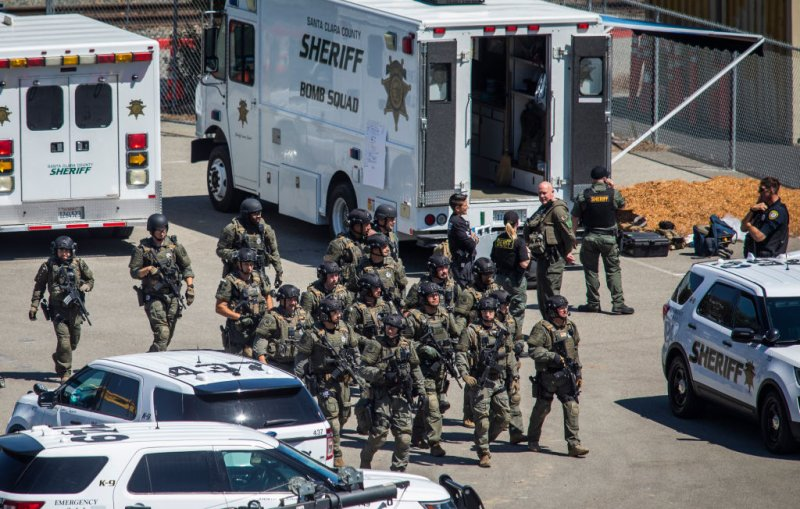 PHOTOS: Mass Shooting Leaves Casualties at VTA Rail Yard in San Jose