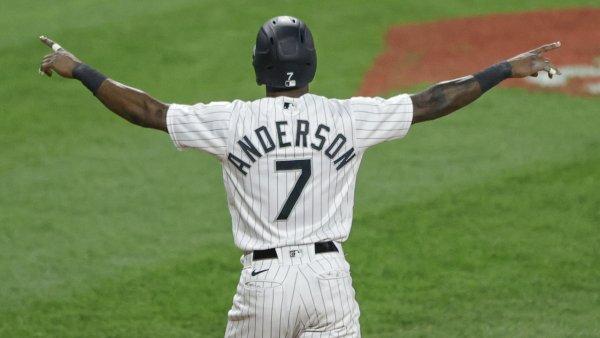Tim Anderson Chicago White Sox USATSI16071837