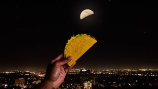 Taco Bell fans in select locations around the globe can score a free taco on May 4, 2021, as part of the chain's first-ever global campaign celebrating a lunar phase of the moon.
