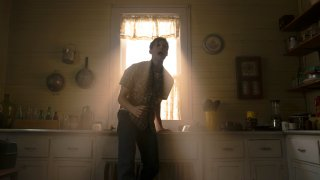 """This image released by Warner Bros. Entertainment shows Ruairi O'Connor in a scene from """"The Conjuring: The Devil Made Me Do It."""""""