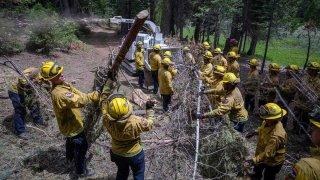 Crews work to clear debris