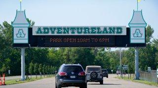 Photo of Adventureland entrance