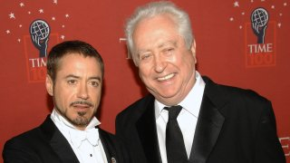 Robert Downey Jr. and Sr.