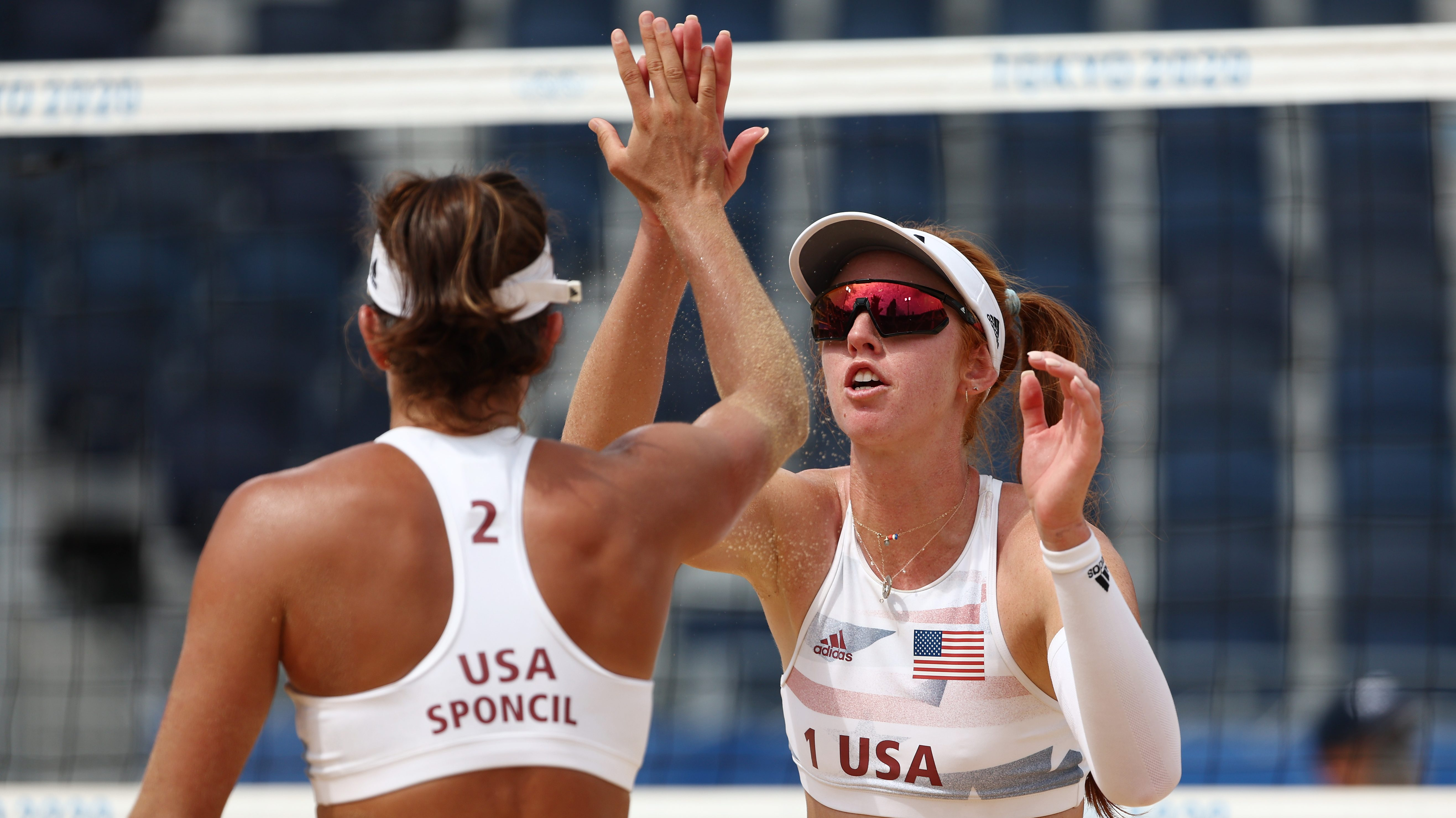 USA Beach Volleyball To Begin Elimination Matches In Quest For Gold