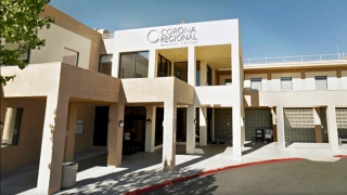 Corona Regional Medical Center in Corona, Calif., where Stephen Harmon, 34, was admitted before he passed away.