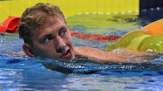 Russian swimmer Ilya Borodin