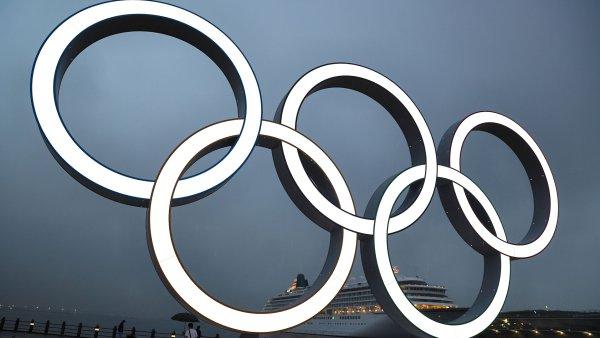 olympic rings tokyo getty