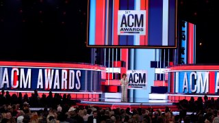 Reba McEntire on stage at the 54th annual Academy of Country Music Awards