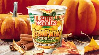 Pumpkin Spice-flavored Cup Noodles.