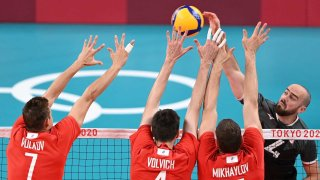 Russia Canada Volleyball