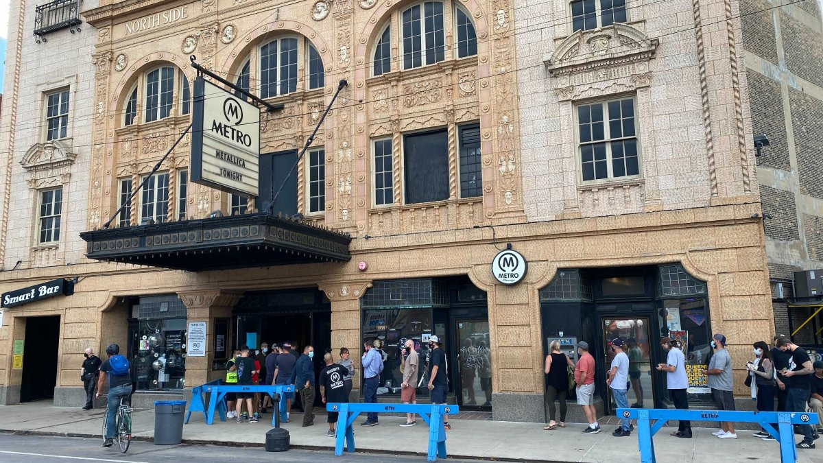 Metallica Playing Unexpected Show at Chicago's Metro Monday – for Just $20 - NBC Chicago