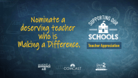 Supporting Our Schools: Nominate a Teacher Going Above and Beyond