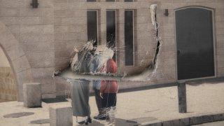 Ultra-Orthodox women hangs in Jerusalem vandalism