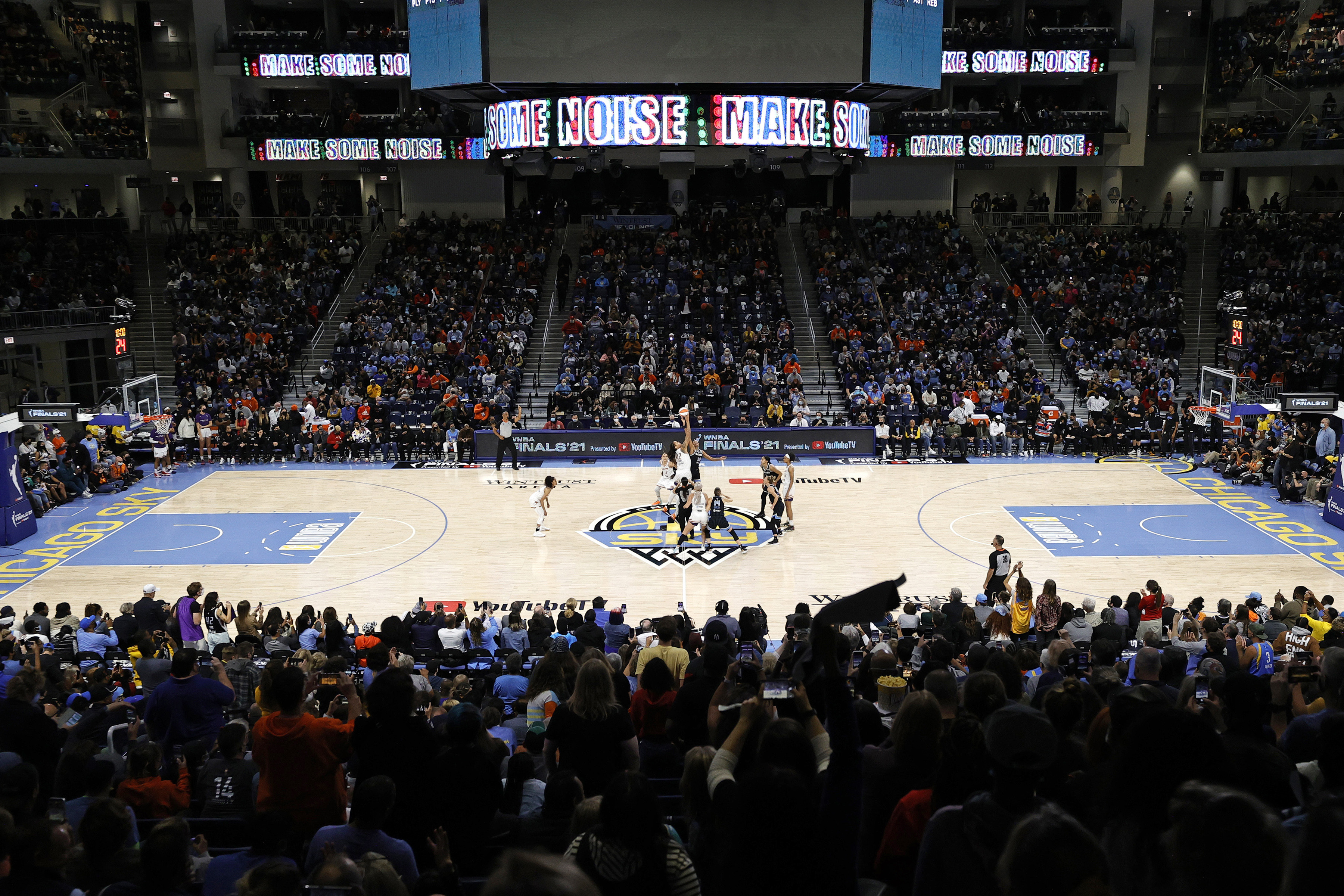 WNBA Finals: Chicago Sky Ticket Prices Soar for Potential Clincher