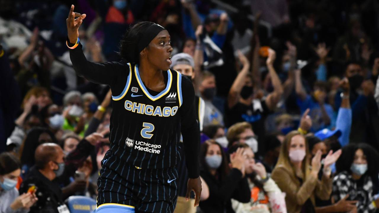 Kahleah Copper, Sky Dominate Mercury in Game 3 of WNBA Finals