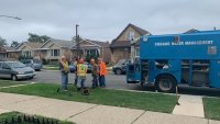 Chicago Fire Hydrant Spilling Water For 4 Weeks Gets Fixed