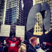 [chicagogram] Scene at the Chicago Public School closings protest. #cps #chicagogram #chicago #protest #daleyplaza
