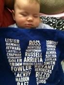 [UGCCHI-CJ-kids at play]Baby Mac falls asleep for Cubs win