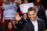 PHOTOS: President Obama Appears at Chicago Rally