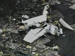Sky 5 Above Plane Wreckage