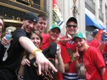 PHOTOS: Blackhawks Parade Madness!!
