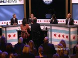 Swings Taken, But No Knock-Out Punches at Mayoral Debate