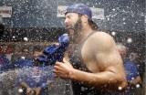 PHOTOS: Cubs Celebrate Wild Card Win
