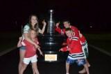 [UGCCHI-CJ-sports]Celebrating the Blackhawks 16th Win