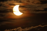 Partial Solar Eclipse in Chicago