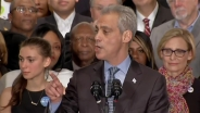 Emanuel's Victory Speech