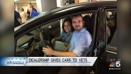 Suburban Car Dealership Gives Away Vehicles to Veterans