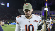 Bears' Trubisky Expects to Play Against Giants if He's Ready