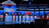 Democrats Spar at Debate Over Health Care, How to Beat Trump