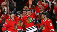 Anisimov Leads Blackhawks to Late Win Over Coyotes