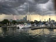 [UGCCHI-CJ-weather]Burnham Harbor storm