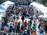 Festival de arte en la avenida Glenwood