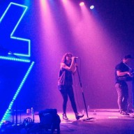 [chicagogram] I'm feeling capable of seeing the end, I'm feeling capable of saying it's over #CHVRCHES #tether #thebonesofwhatyoubelieve #chicago #lolla #lollapalooza #lolla2014 #musicislove #happiness #adayinthelife #chicagogram #thevic