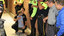 Back-to-School Police Escort