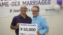 Cook County Issues 10,000th Same-Sex Marriage License