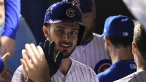 Kris Bryant, Wife Spend Day Off in Disney World