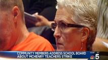 Emergency Meeting Held in McHenry Strike
