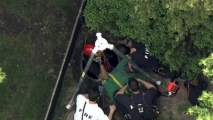 Rescuers Descend Into Sewer After Report of 3 Kids Trapped